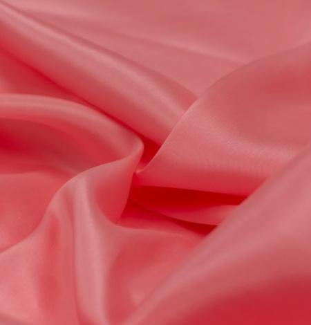 Rozā laša krāsas zīda oderes audums. Photo 3