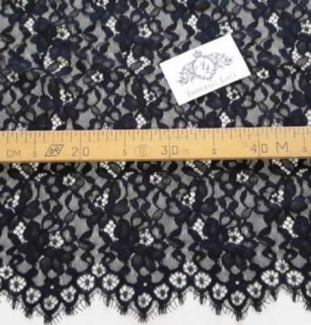 Black Lace Fabric. Photo 4