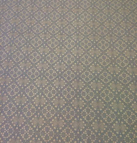 Grey Lace Fabric, French Lace. Photo 5