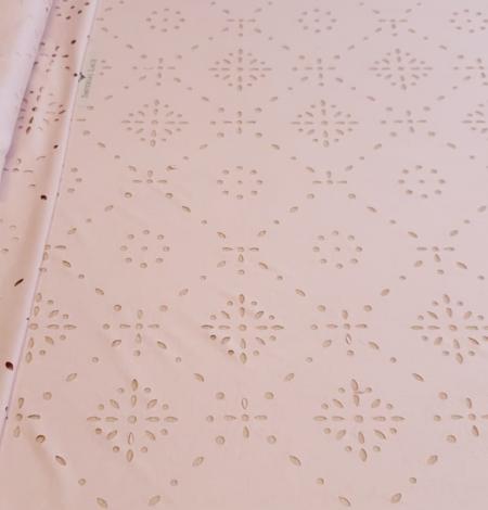 Oldrose velvet fabric. Photo 5