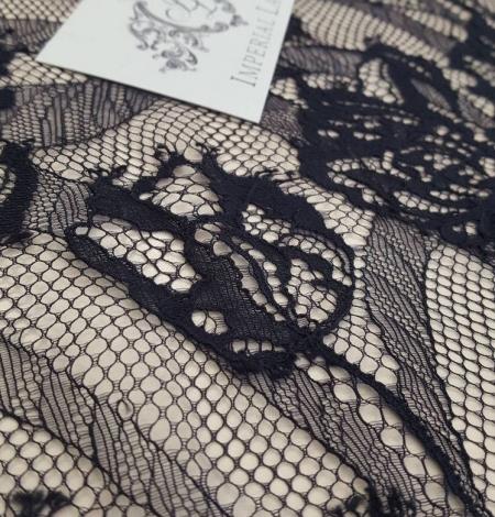 Melna Chantilly mežģīne. Photo 1