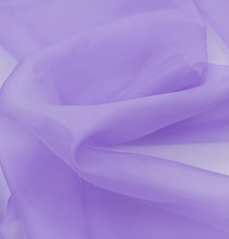 Violets zīda organza audums. Photo 5