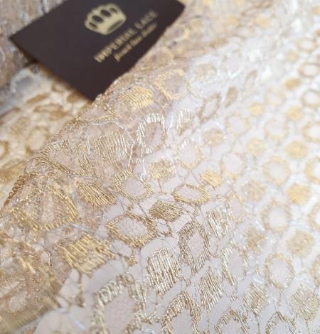 Zelta Chantilly Mežģīne. Photo 2