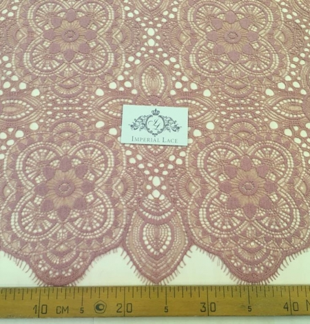 Old Rose lace fabric. Photo 5