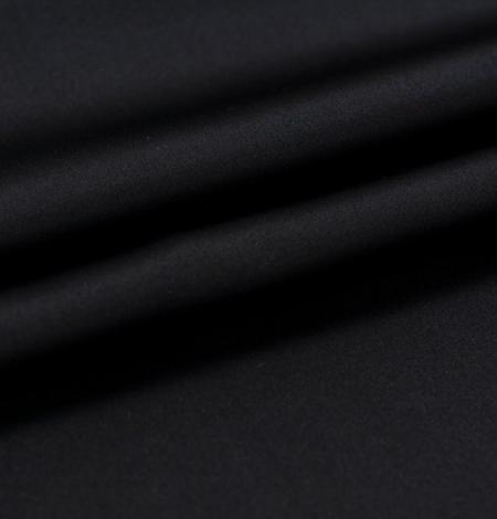 Melns divpusējs zīda satīna audums. Photo 3