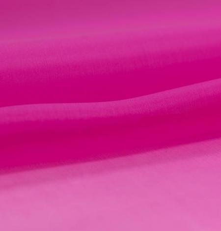 Spilgti rozā zīda organzas audums. Photo 3