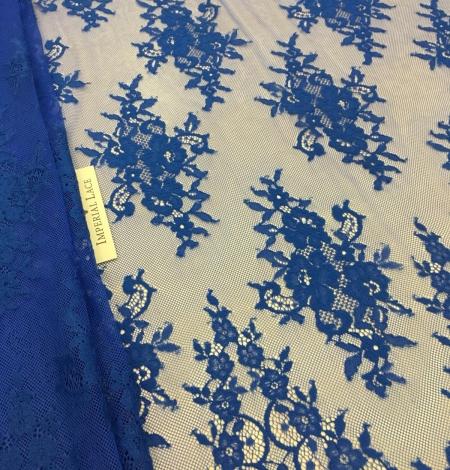 Zila Chantilly mežģīne. Photo 1