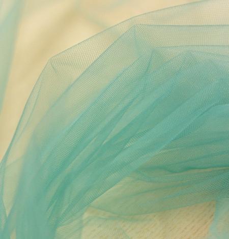 Lagūnas jūras zaļš mīksts tilla audums no Itālijas. Photo 4