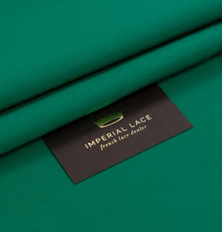 Rubīna zaļš zīda duchess audums. Photo 1