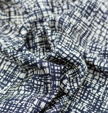 Abstrakts līniju raksta zīda audums. Photo 5
