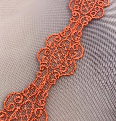 Oranža macrame mežģīņu apdare. Photo 3