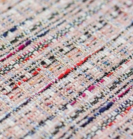 Rozā krāsā ar daudzkrāsainu tvīda audumu. Photo 3