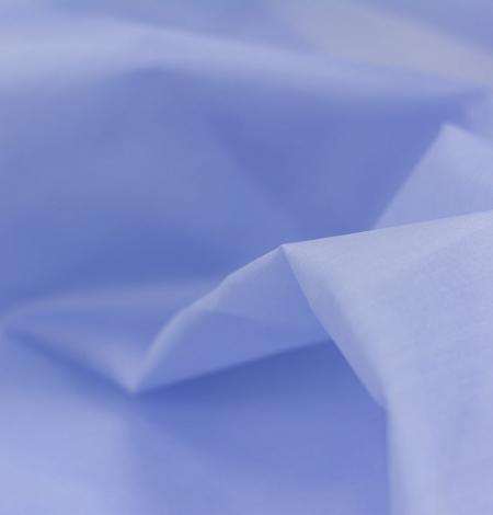 Zils ar pelēku toni zīda organzas audums. Photo 3