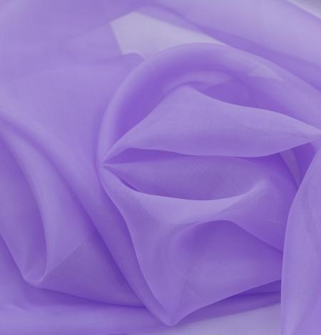 Violets zīda organza audums. Photo 7