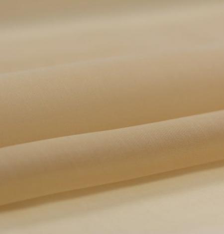 Gaiši brūns zīda organzas audums. Photo 2