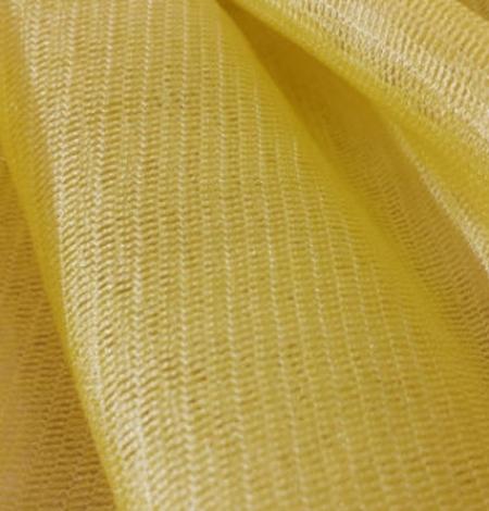 Dzeltens zīda tilla audums. Photo 2