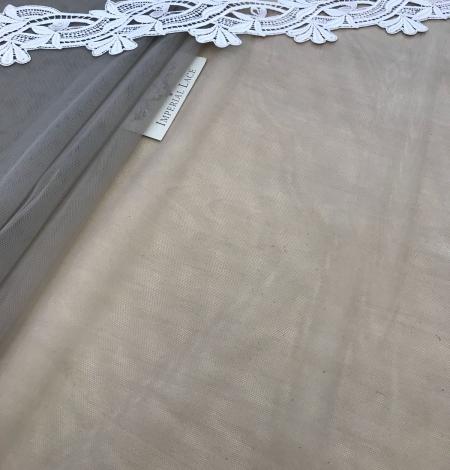 Pistācijas krāsas tilla audums. Photo 6