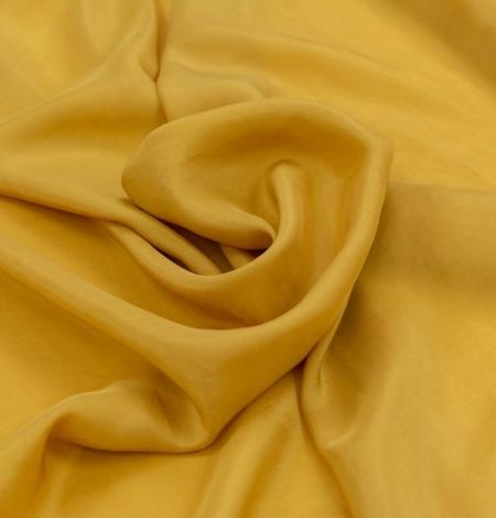 Sinepju dzeltens zīda oderes audums. Photo 2
