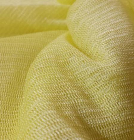 Dzeltens zīda tilla audums. Photo 3