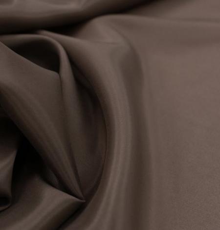 Brūns viskozes ar elastānu oderes audums. Photo 7