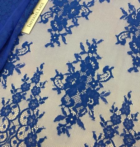 Zila Chantilly mežģīne. Photo 7