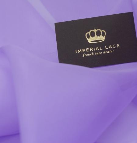Violets zīda organza audums. Photo 4