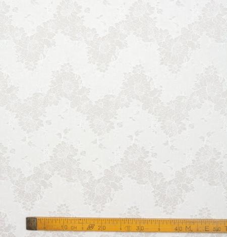 Ziloņkaula chantilly ar audumu mežģīne. Photo 8