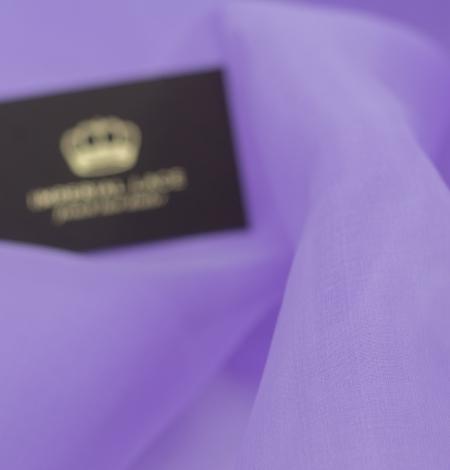 Violets zīda organza audums. Photo 3