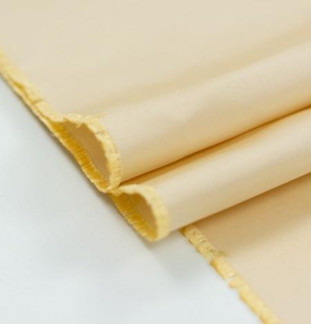 Zeltaini krēmīgs zīda duchess audums. Photo 7