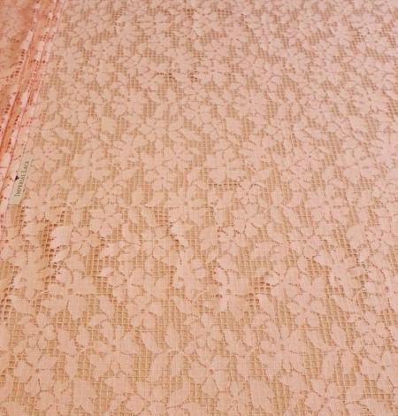 Rozā puķaina un rūtaina biezā mežģīne. Photo 8