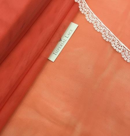 Oranžas krāsas tilla audums. Photo 2
