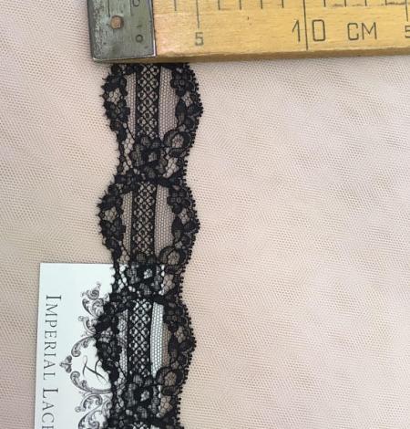 Melna smalka mežģīnes maliņa no Francijas. Photo 5