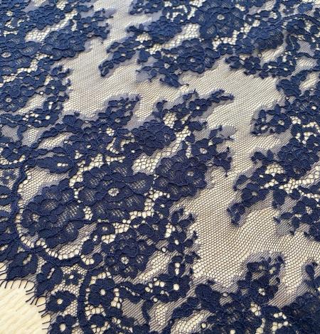 Karaliski tumši zila guipure mežģīnes maliņa. Photo 3