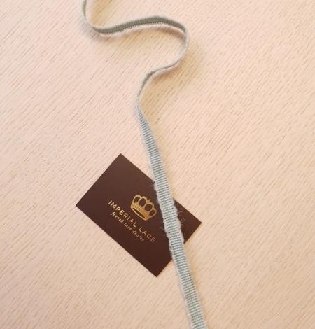Piparmētru zaļās vilnas grosgrain lente. Photo 6