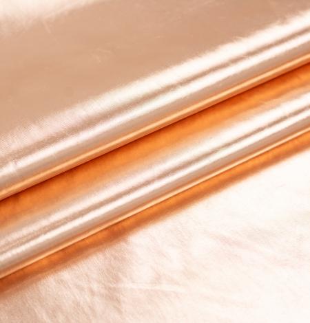 Bronzas krāsas spīdīgs lietusmēteļa audums. Photo 6