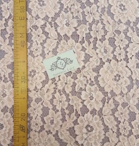 Salmon Lace Fabric. Photo 4