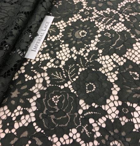 Green lace fabric. Photo 4