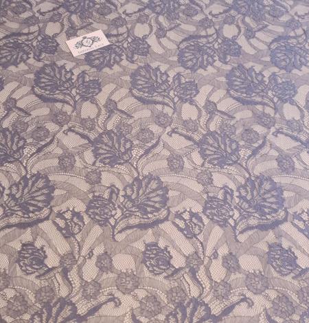 Grafīta Pelēka Chantilly Mežģīne . Photo 4