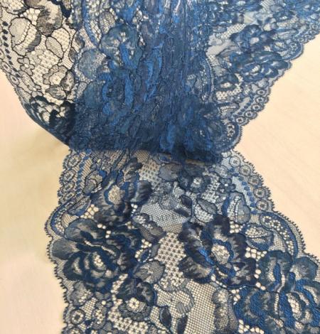 Tumši zila ar tirkīzas nokrāsas mežģīņu apdari. Photo 2