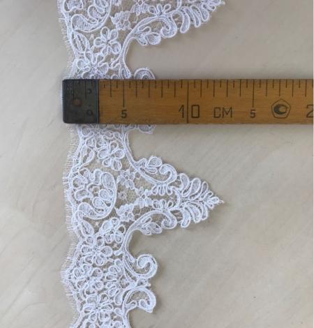 Balta kāzu mežģīnes maliņa. Photo 6