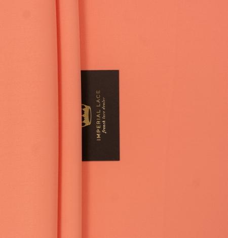 Persiku krāsas zīda krepa audums. Photo 2