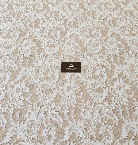 Ivory guipure lace fabric. Photo 8