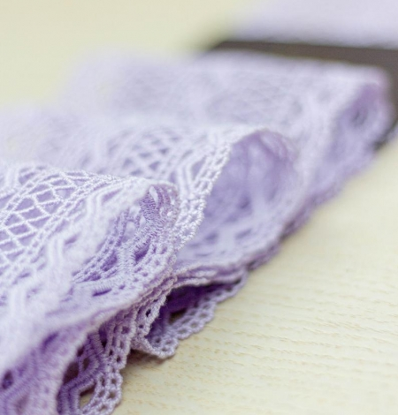Lavandas violeta macrame mežģīņu maliņa. Photo 3
