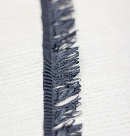 Melna ripsa lenta ar plastikas bārkstīm. Photo 3