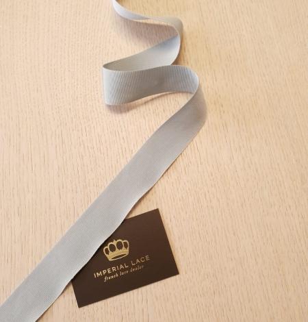 Gaiši pelēcīgi zila grosgrain lente. Photo 6