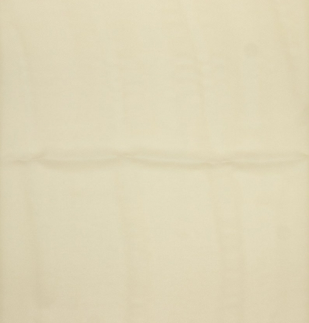 Krēmkrāsas tīra zīda gazāra audums. Photo 5
