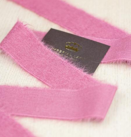 Aveņu rozā lana vilna lenta. Photo 4