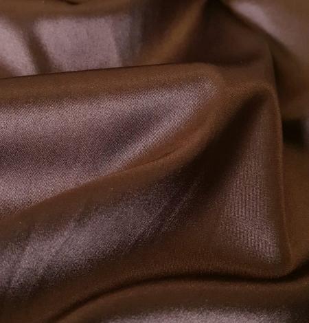 Šokolādes brūns satīns ar elastānu. Photo 3