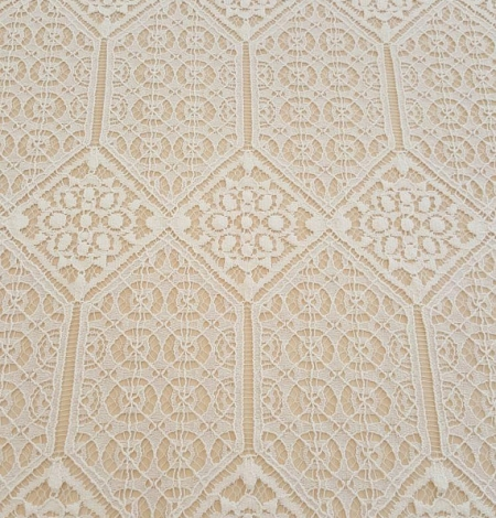 Ivory Lace Fabric. Photo 3