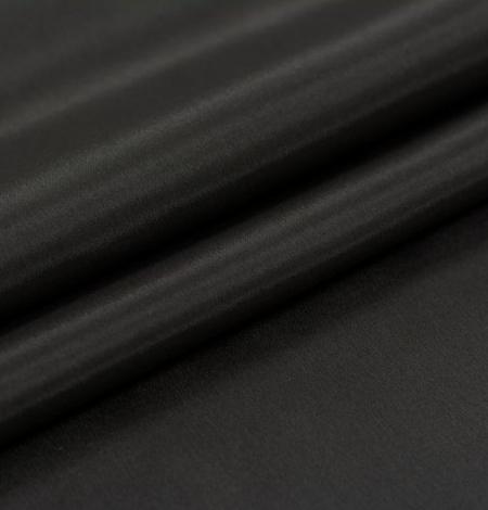 Tumši brūns Brunelli viskozes ar elastānu oderes audums. Photo 6